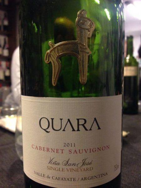 Quara Single Vineyard Cabernet Sauvignon 2011