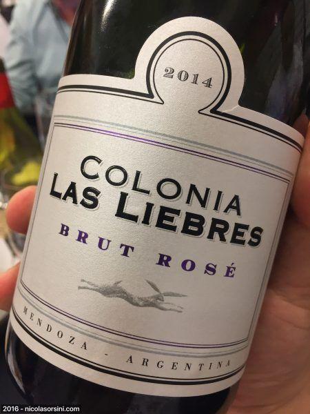 Colonia Las Liebres Bonarda Rosé Brut Nature
