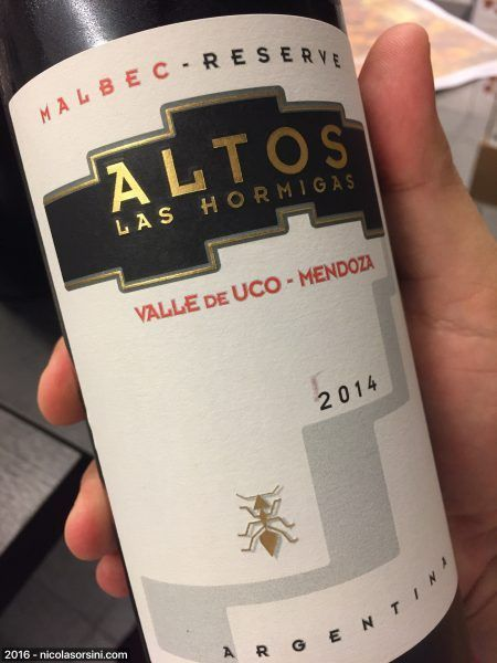 Altos Las Hormigas Reserve 2014