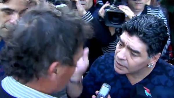 escandalo Maradona Discutio periodista cachetazo CLAVID20140809 0013 34