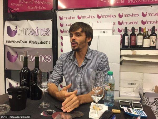 Matías Battilana propietario de Impaciente Wines