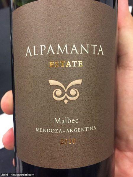 Alpamanta  Estate Malbec 2010