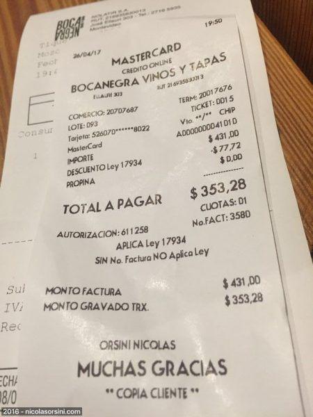 Bocanegra Montevideo