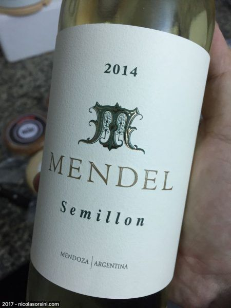 Mendel Semillón 2014