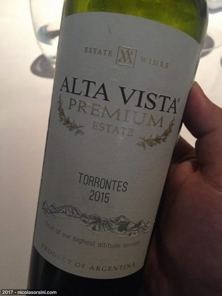 Alta Vista Premium Torrontés 2015