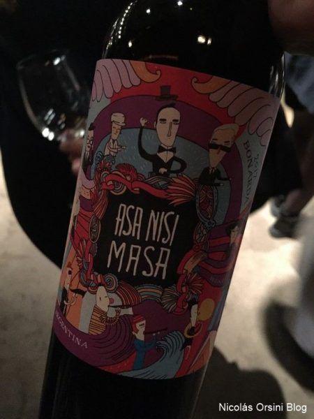 Asa Nisi Masa Bonarda 2017