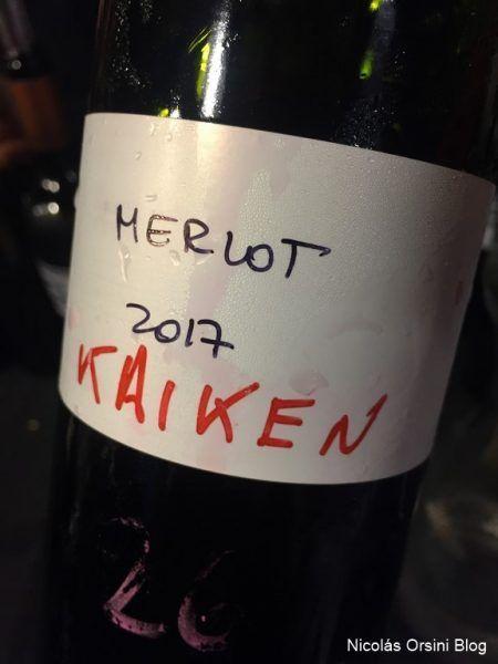 Kaiken Wines Merlot para la línea Ultra