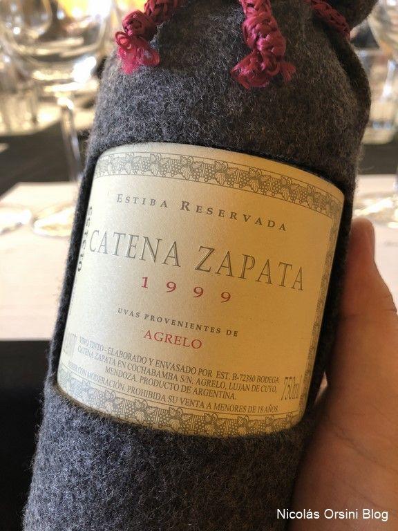 Catena Zapata Estiba Reservada 1999