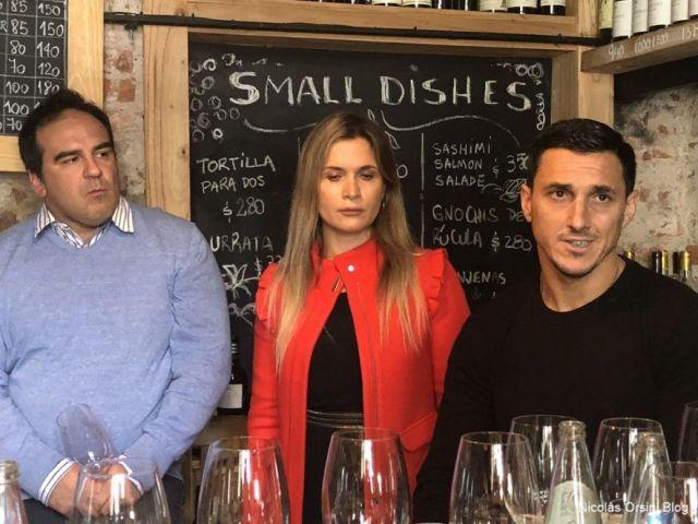 Nicolás Burdisso, Belén Soler Valle y Berni Bossi Bonilla