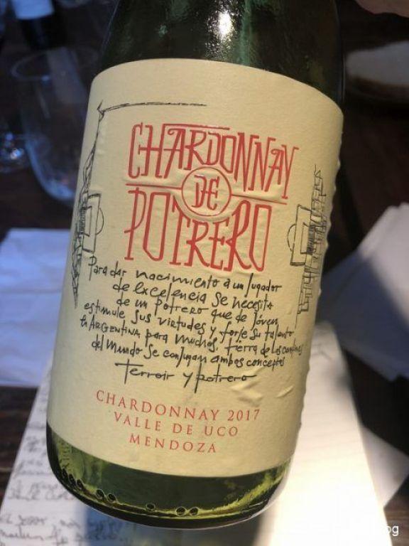 Chardonnay de Potrero 2017