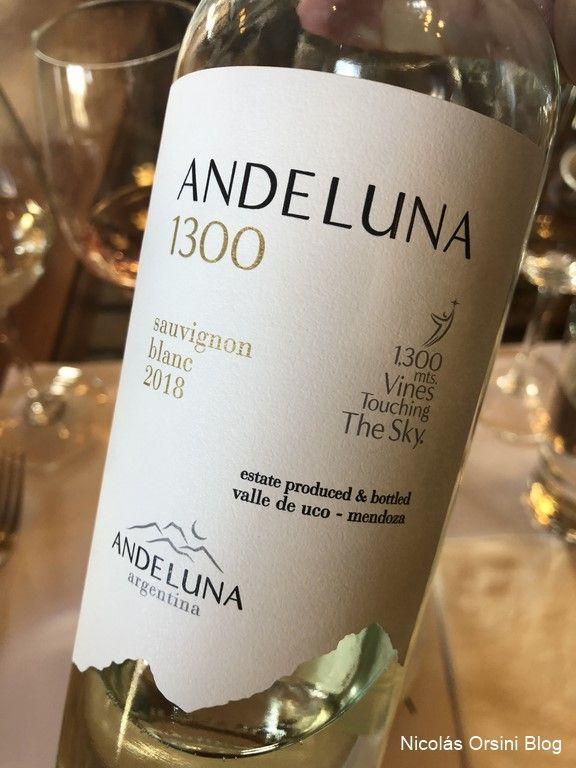 Andeluna 1300 Sauvignon Blanc 2018