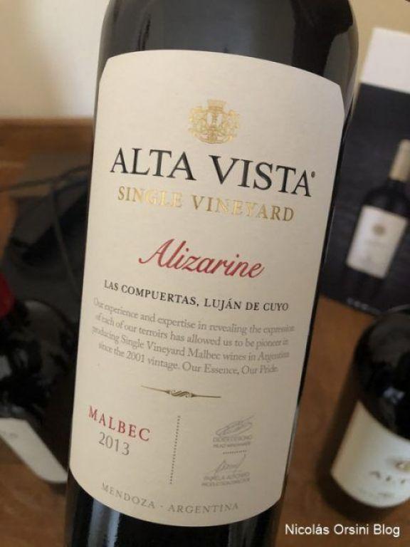 Single Vineyard Alizarine Malbec 2013