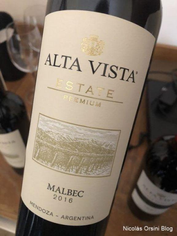 Alta Vista Estate Premium Malbec 2016