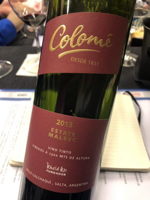 Colomé Estate Malbec 2013