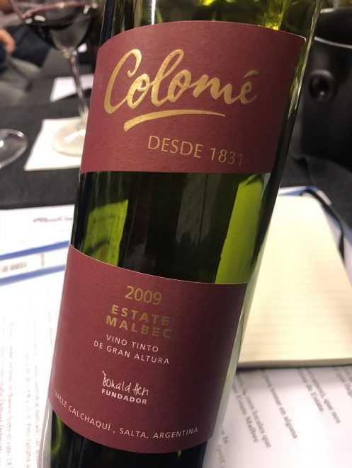 Colomé Estate Malbec 2009