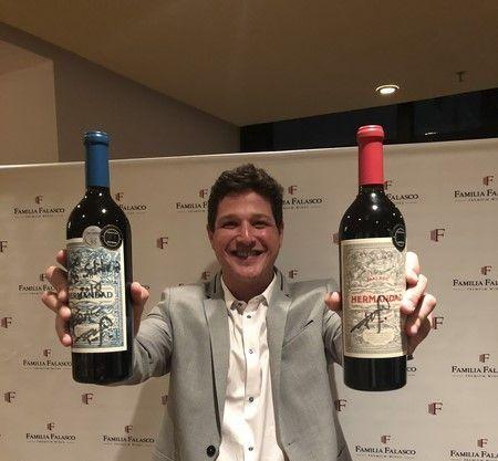 Franco Falasco y sus Hermandad Wines