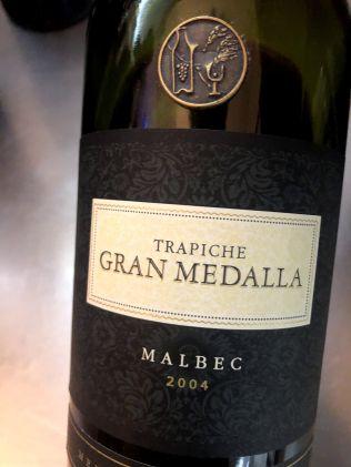 Gran Medalla Malbec 2004