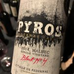 Pyros Single Vineyard Block Malbec 2014