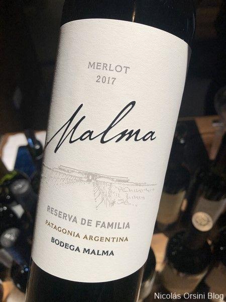 Malma Reserva de Familia Merlot 2017