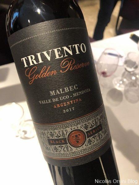 Trivento Golden Reserve Black Edition Malbec 2017