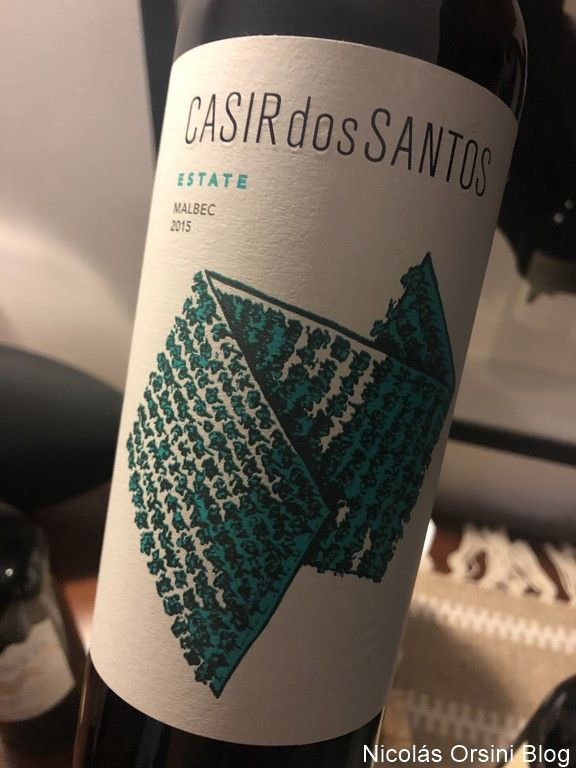 Casir Dos Santos Estate Malbec 2015