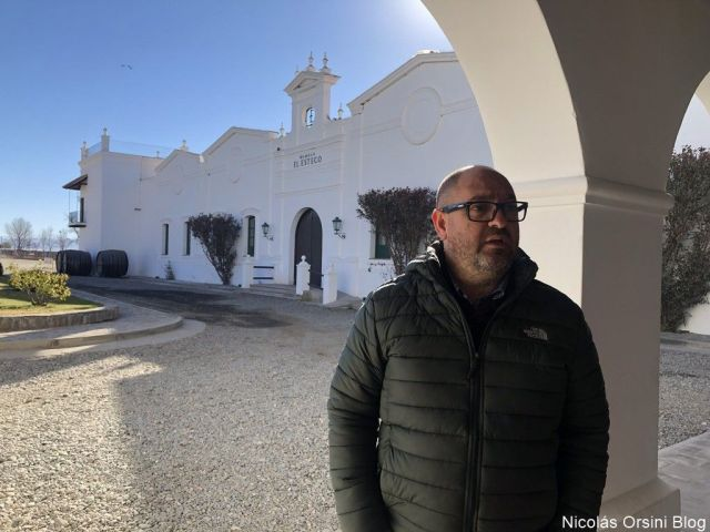 Claudio Maza en Bodega El Esteco