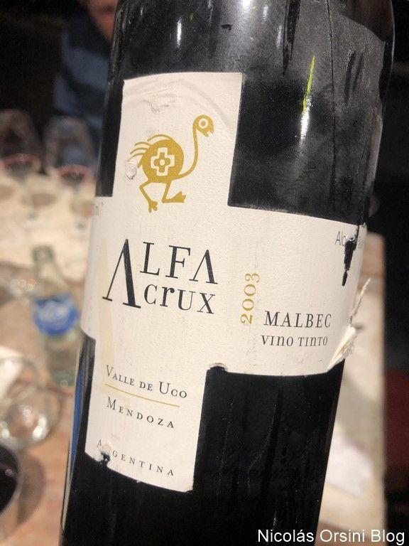 Alfa Crux Malbec 2003