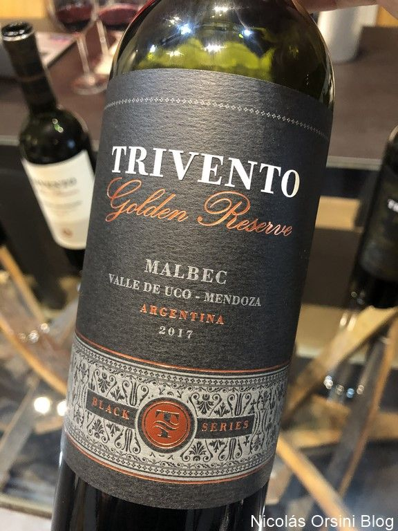 Trivento Golden Reserve Black Series Malbec 2017