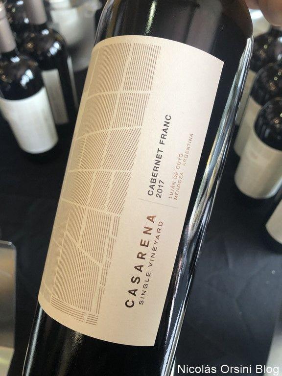 Casarena Single Vineyard Cabernet Franc 2017