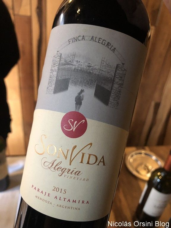 Son Vida Alegría Vineyard 2015
