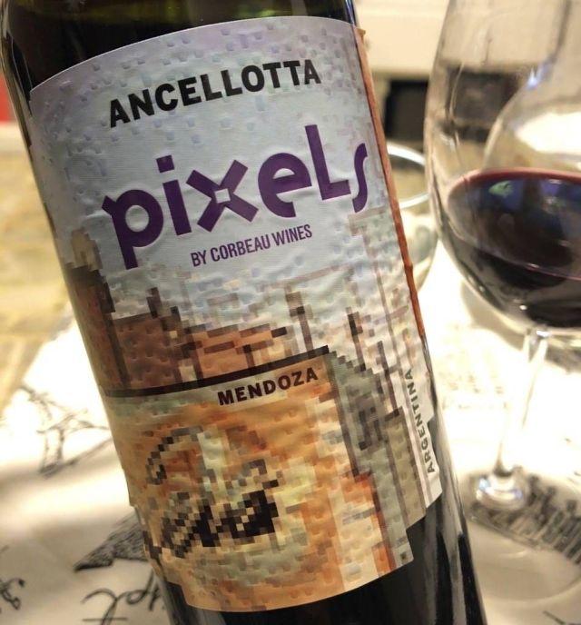 Pixels Ancellotta