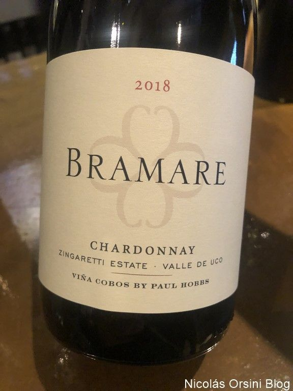 Bramare Chardonnay Zingaretti Estate 2018