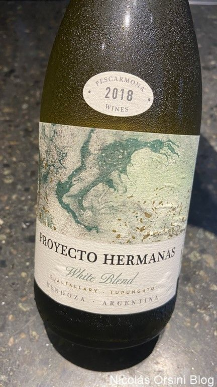 Proyecto Hermanas White Blend 2018