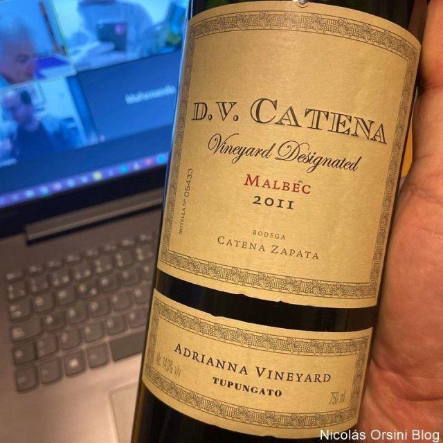 D.V Vineyard Designated Malbec 2011 Adrianna