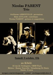 Nicolas Parent trio (2009)