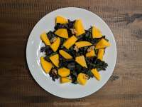 Kale and mango salad for FMD