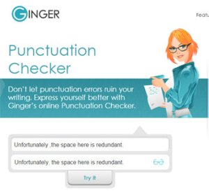Ginger Grammar Checker