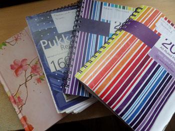 Notebooks – A writer's best friend