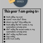 My 2016 Writing Goals