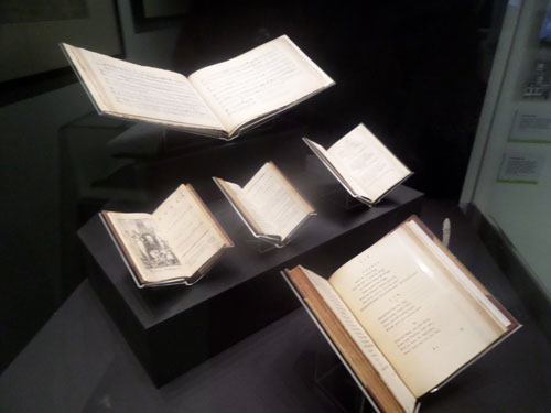 My Visit to the Our Shakespeare Exhibition - Books in the exhibition