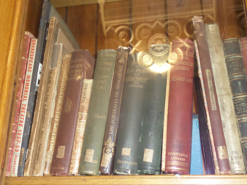 My Visit to the Our Shakespeare Exhibition - Books in the Shakespeare Memorial Room