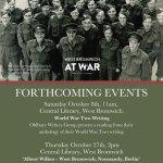 Oldbury Writing Group Event – World War Two Anthology Reading