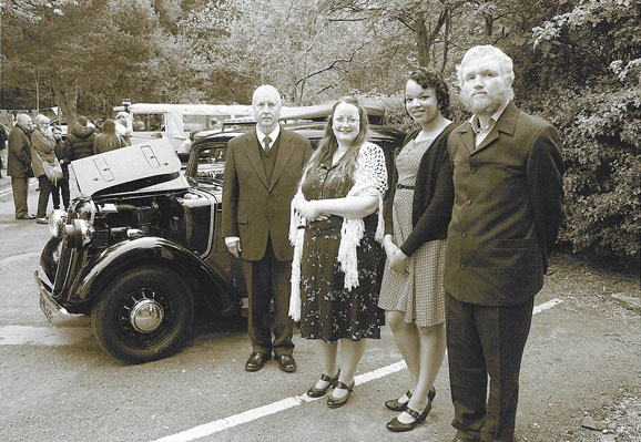 From Sunrise to Sunset Book Tour – Museum of Cannock Chase's VE Day Celebration - Group Photo taken by Memory Lane Photography