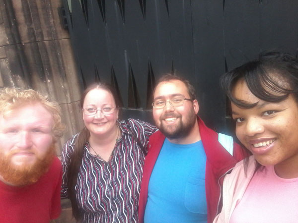 St Bartholomew's Church Group Selfie