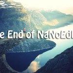The End of NaNoEdMo 2018