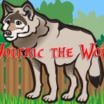 Wolfric the Wolf by Nicole J Simms