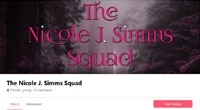 The Nicole J. Simms Squad - Become a NJS Squaddie and see the latest news before anyone else