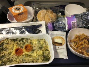 Even airplane food is healthier then American food