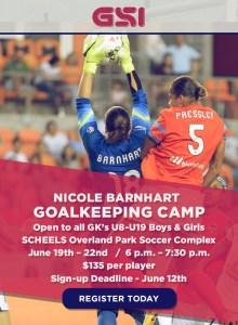 NB Goalkeeping Camp - June