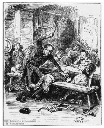 19th Century School Punishment